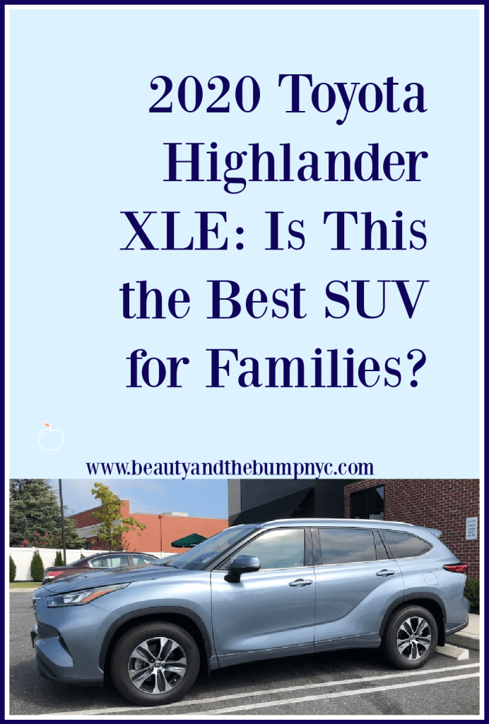 2020 Toyota Highlander XLE: Is This the best SUV for Families? road trip vehicle