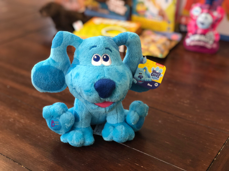 Do we have any parents whose toddler is a Blue's Clues fan? If so, they will love this cute and cuddly plush Blue's Clues & You Beanbag Plush. Your toddler can take this on car or stroller rides, or even sleep with Blue for comfort.