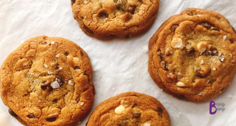 To celebrate National Chocolate Chip Cookie Day, I'm sharing the best chocolate chip cookie recipe: Chocolate Chip Cashew Cookies.