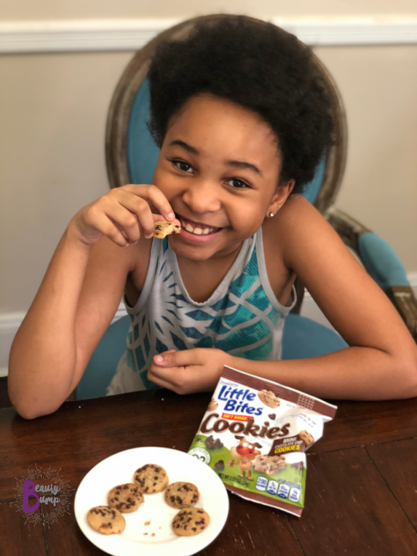 Entenmann's Little Bites Soft Baked Cookies are great lunchbox snacks to add a special sweet treat to your kids lunches.