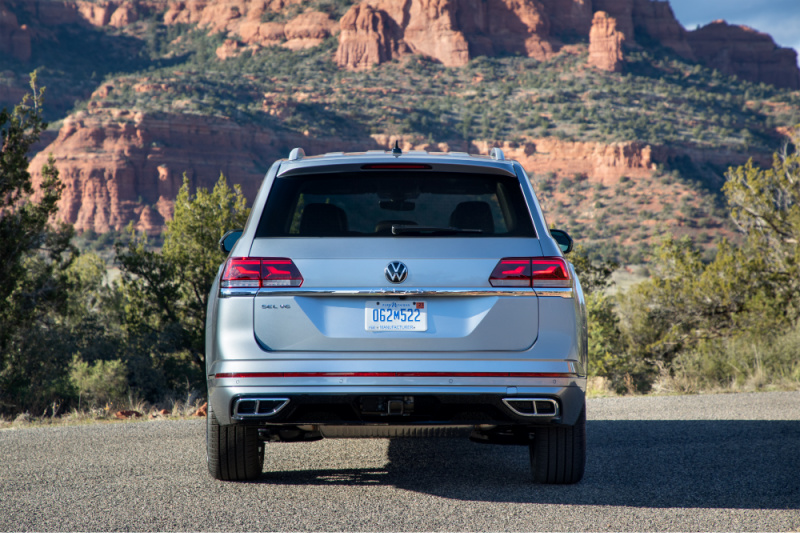 Families of multitaskers that are always moving, the American-made Volkswagen Atlas is the perfect family SUV for practical functionality and freedom.