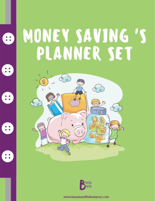 The Money Saving Planner Set is a printable includes the following pages helping teaching kids to save money in a fun way: My Goal Setting Plan Needs Versus Wants Ways to Earn Money Items I want Piggy Bank Cut-Outs