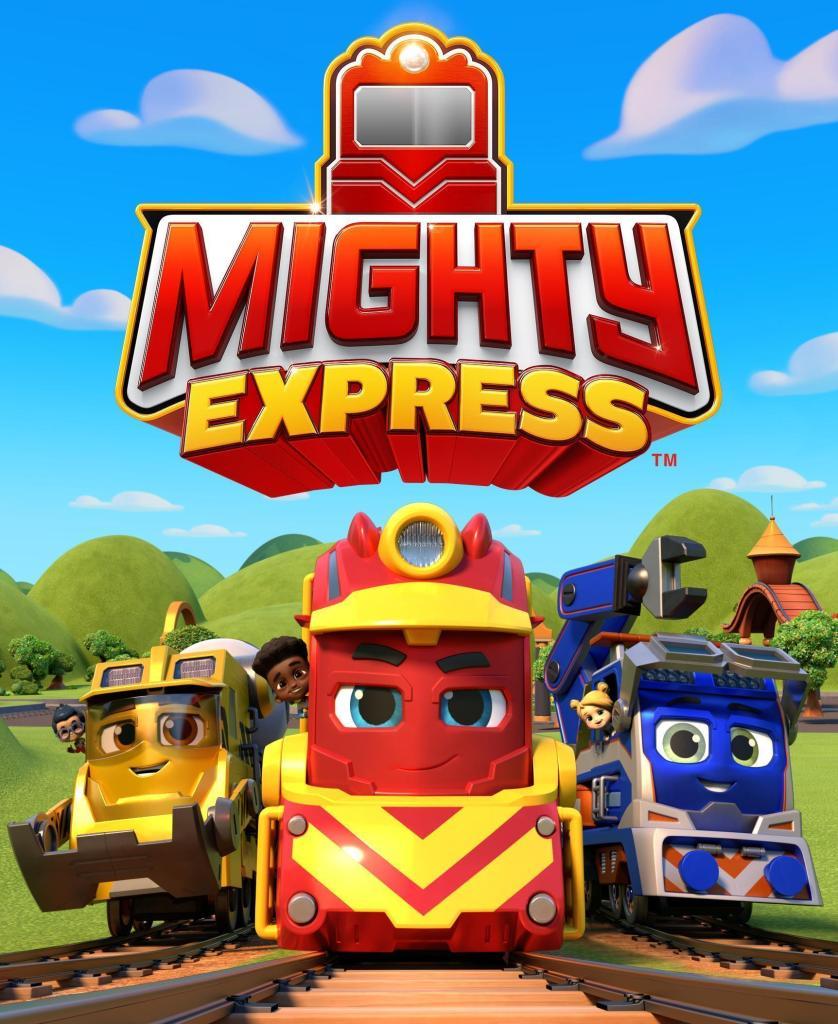 Mighty Express is an adventure-filled kids show on Netflix teaching pre-school aged kids friendship & teamwork.
