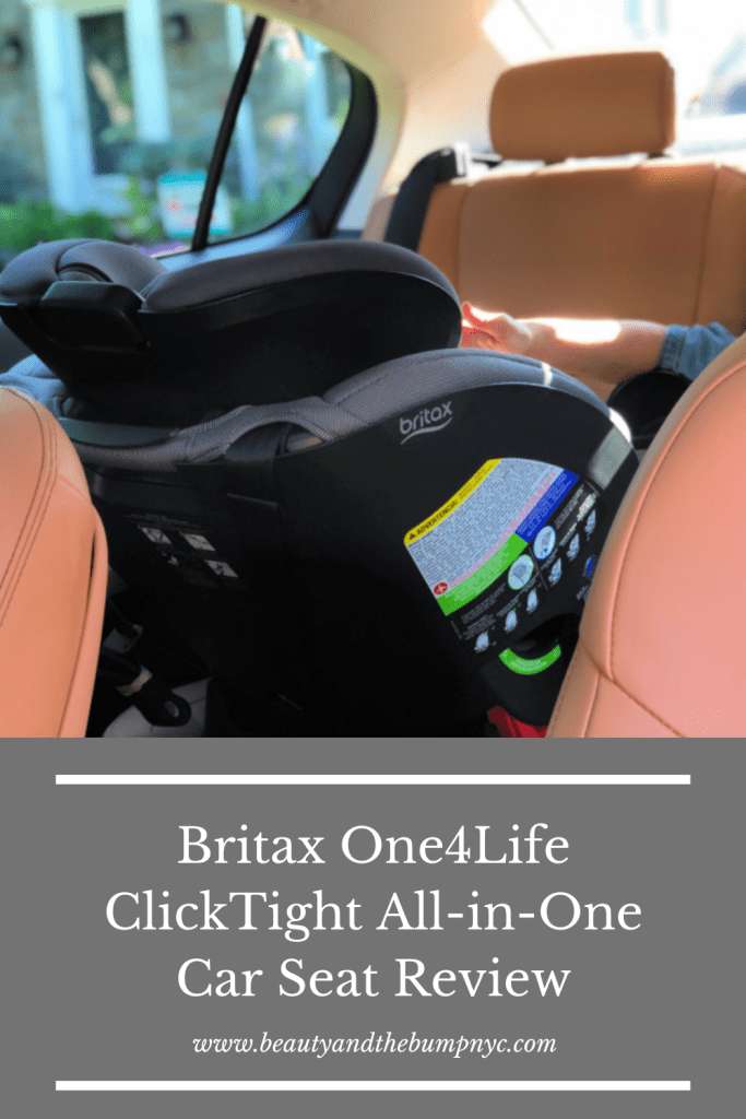 Britax Car Seats are known as the 'Bentley' of car seats; premium materials & safety are evident in the Britax One4Life ClickTight All-in-One Convertible Car Seat