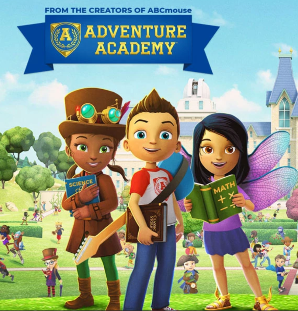 Adventure Academy is an Virtual Educational Game. Brought to you by the same creators of ABC Mouse, Adventure Academy is a great educational gift to give. This subscription to a web-based multiplayer learning game like Adventure Academy is great for elementary and middle school students. I find that children who are obsessed with gaming interfaces like Roblox enjoy learning and playing on Adventure Academy where 1,000s of learning activities are discovered via quests through an interactive virtual world.