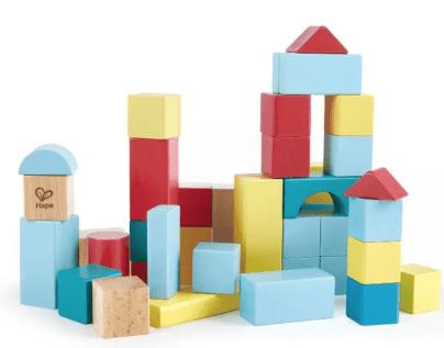 Hape My First Blocks - 80 Piece Set
