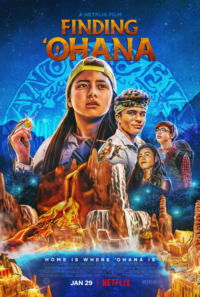 Netflix's upcoming family movie, FINDING 'OHANA shows that home is where our family is. On Netlfix January 29, 2021 #FindingOhanaNetflix
