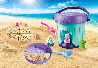 1.2.3 Sand Bakery Sand #PLAYMOBILSummerFunBucket ($24.99 each) - Hit the beach this summer with either of these adorable, high-quality pails and shovels. Perfect for the beach or backyard fun, each set has three different molds. Perfect for little ones can bring imaginative play to the beach or sandbox.