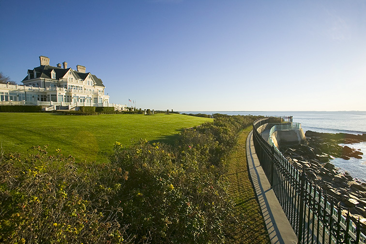 Beautiful scenery in Newport, Rhode Island.