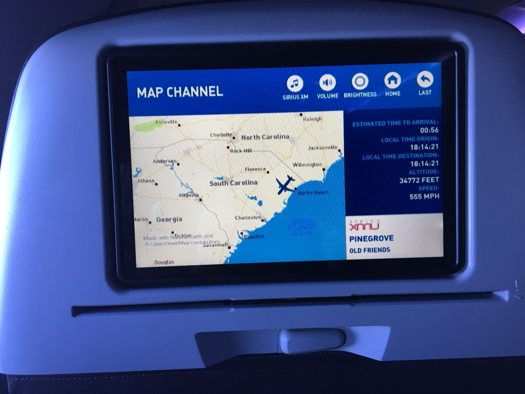 New York (JFK) JetBlue Flight to Orlando Disney's Magic Kingdom