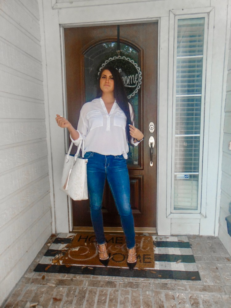 how to wear denim to work and still look super professional and hot #exec #bossbabe #denim #work #workclothes #workstyle #workjeans