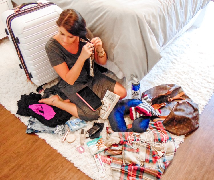The top 13 things to have in your carry on for any kind of travel! #travel #style #vacation #blogpost #carryon #essentials #goto #organization #hacks #pack #packing #fashion