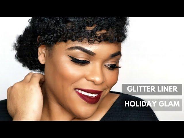 Glitter Liner |Holiday Glam