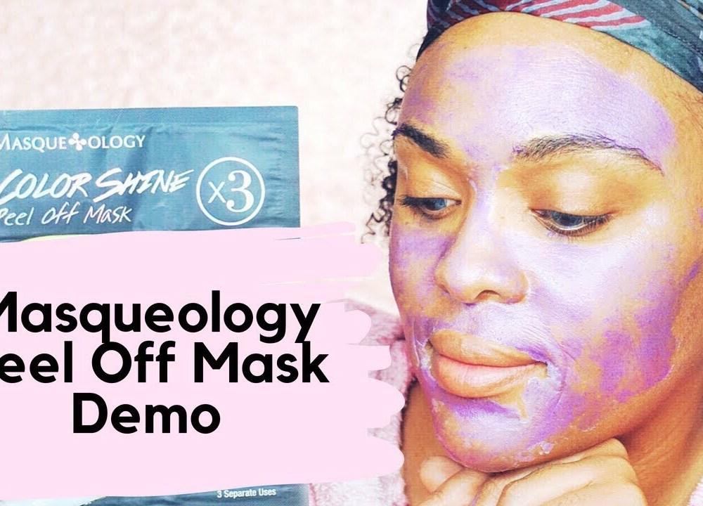 Masqueology Color Shine Purple Mask DEMO