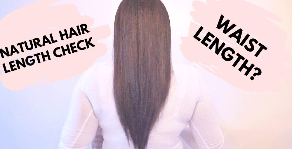 Natural Hair Length Check!!! (video)