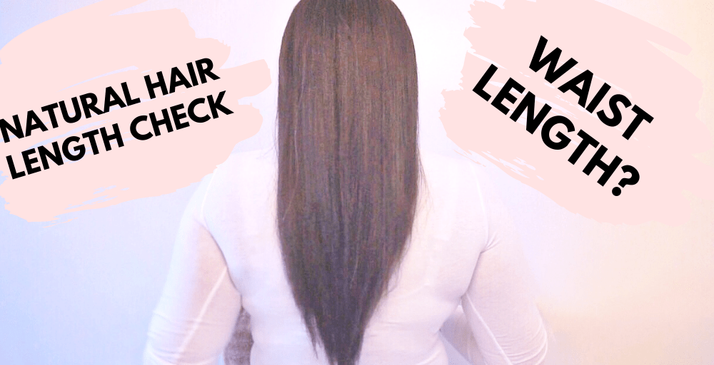 Natural Hair Length Check!!! (video)