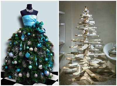 DIY Ideas: Alternative Christmas Trees