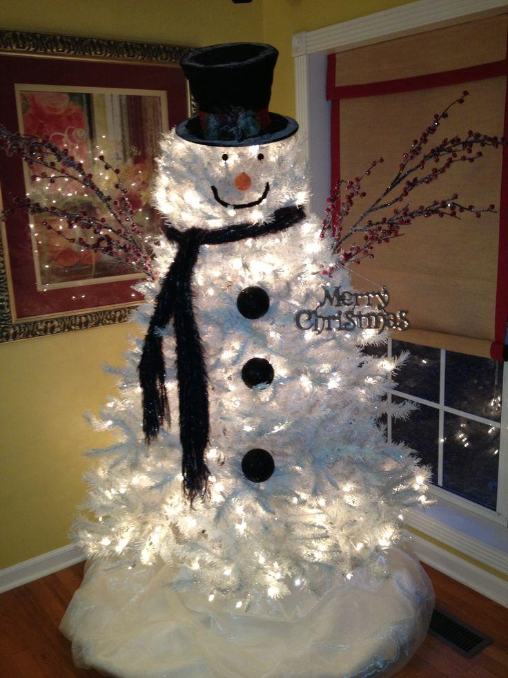 snowman-tree