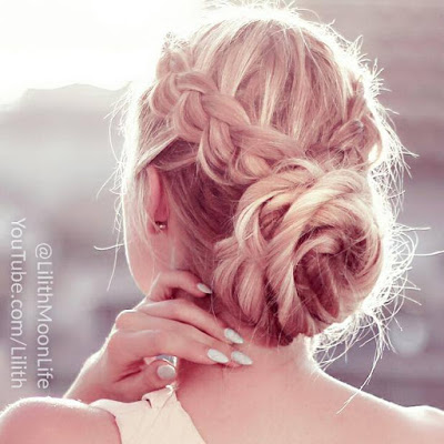 New Years Eve Hairstyle Greek Goddess Hair Updo Video Beauty