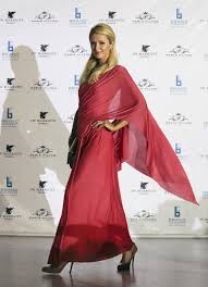 paris-hilton-saree