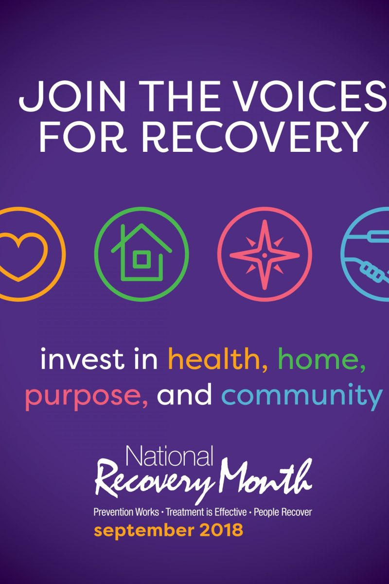 September is National Recovery and Suicide Prevention Awareness Month