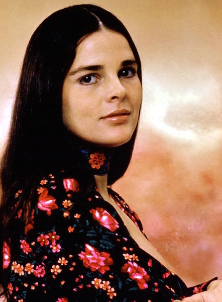 #TBT: Ali MacGraw's Pin-Straight Strands - Beauty Banter