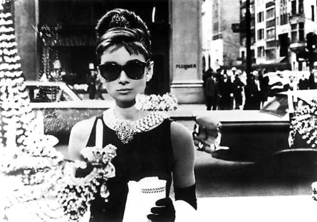 hepburn audrey breakfast sunglasses