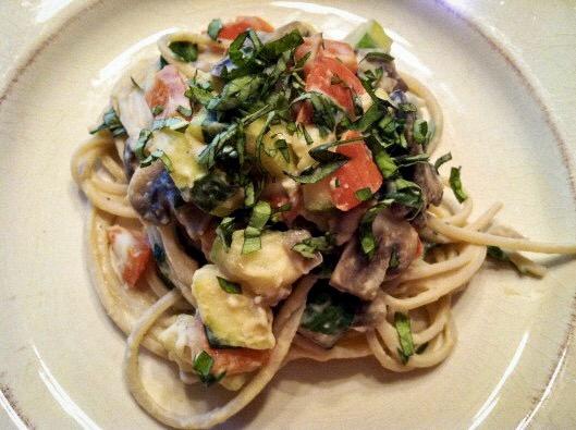 Hummus Pasta! - BeautyBeyondBones #glutenfree #vegan #edrecovery #food #healthyfood