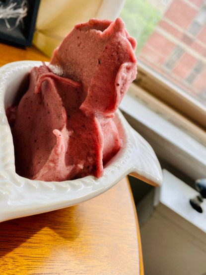 Watermelon Blackberry Ice Cream by BeautyBeyondBones! #dessert #food #glutenfree #vegan #paleo #specificcarbohydratediet #edrecovery