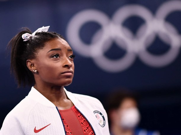 Simone Biles recently made waves on social media with comments about abortion and the broken foster care system. A new perspective on this divisive topic, from Top Eating Disorder Recovery blogger - BeautyBeyondBones. #faith #family #catholic #prolife #olympics #simonebiles #gymnastics #parenting #recovery #anorexia