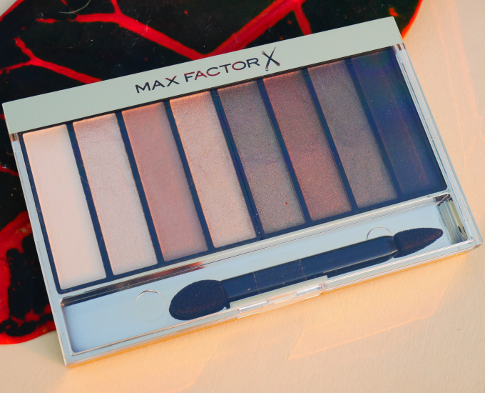 Max Factor Masterpiece Nude Oogschaduw Palette Review