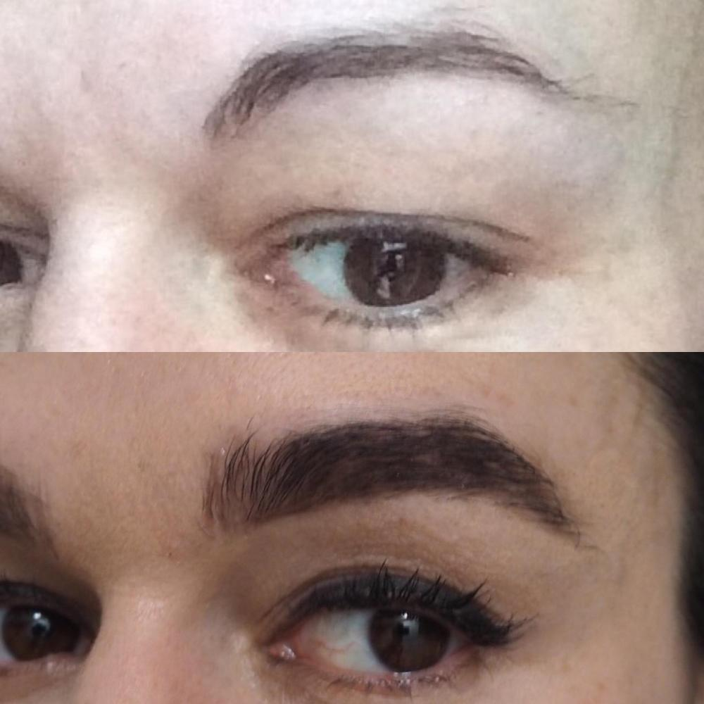 Madame Wax Brow Treatment Review before and after regrowing my brows
