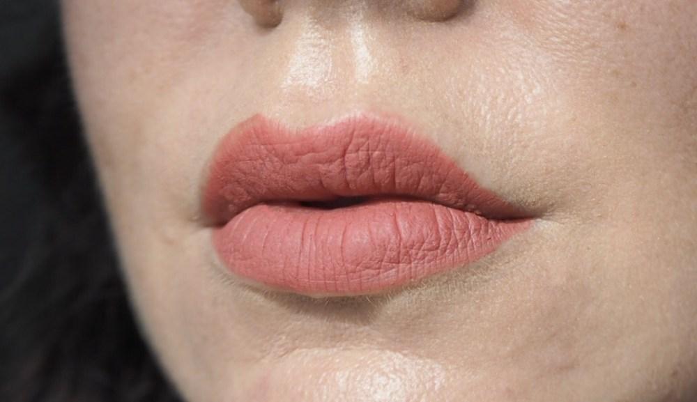Rimmel Stay Matte Liquid Lipstick- Lip Swatch- Pink Blink