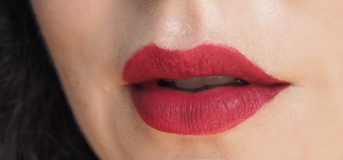 Rimmel Stay Matte Liquid Lipstick- Lip Swatch- Plum This Show
