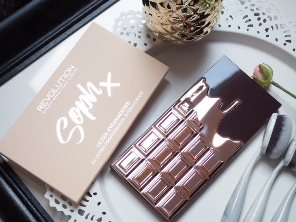 Makeup Revolution Soph X Eyeshadow Palette Review outer packaging