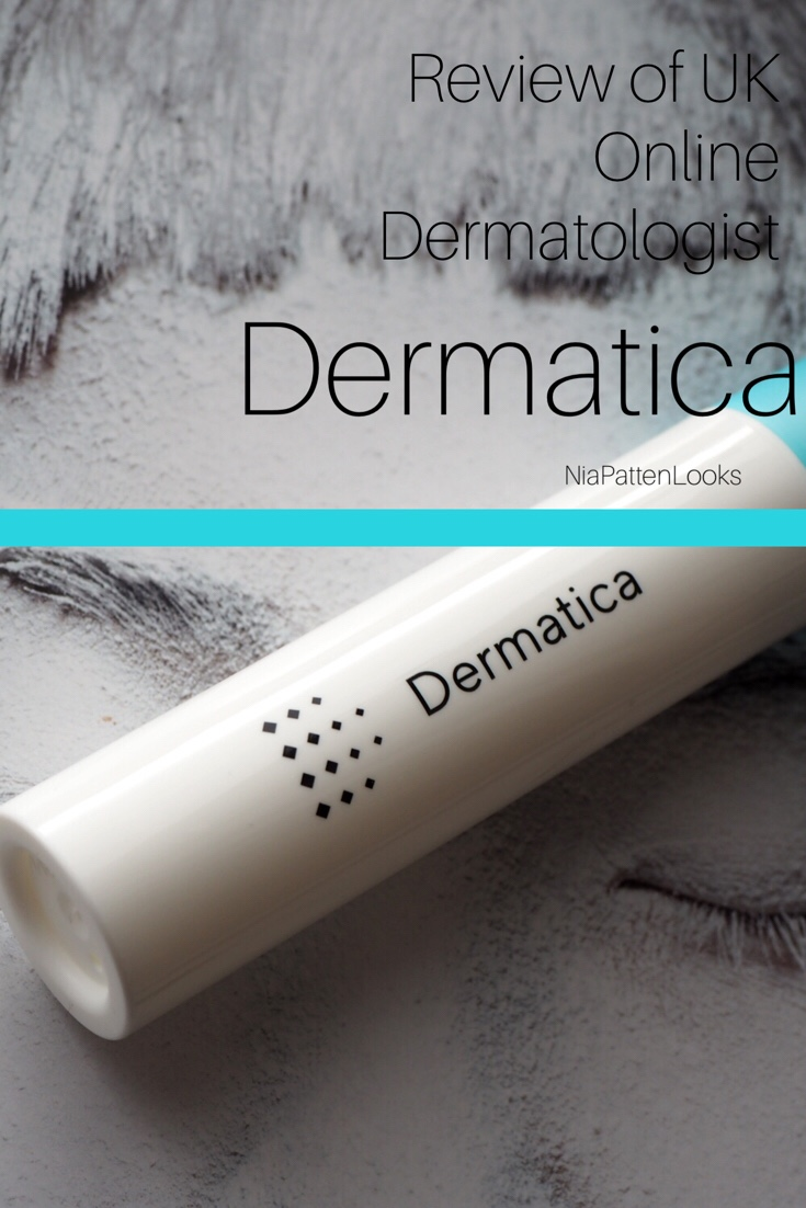Review of New Online Dermatologist- Dermatica  The U K  version of