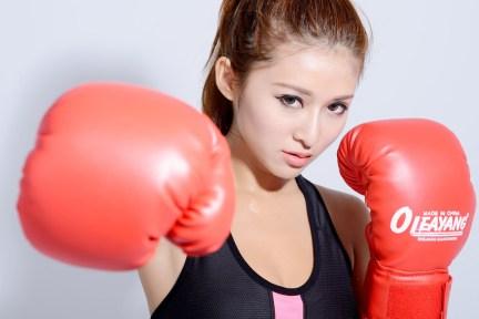 ボクシング 女性 モデル