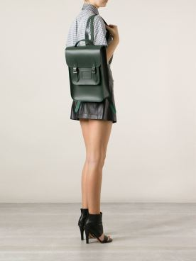 The Cambridge Satchel Company Raw Cut Leather Backpack ($294.35)