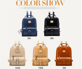 Faux Leather Backpack ($38.61)
