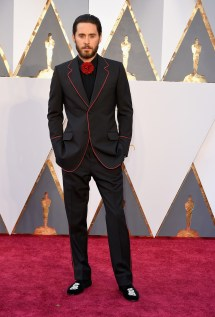 Jared Leto in Gucci