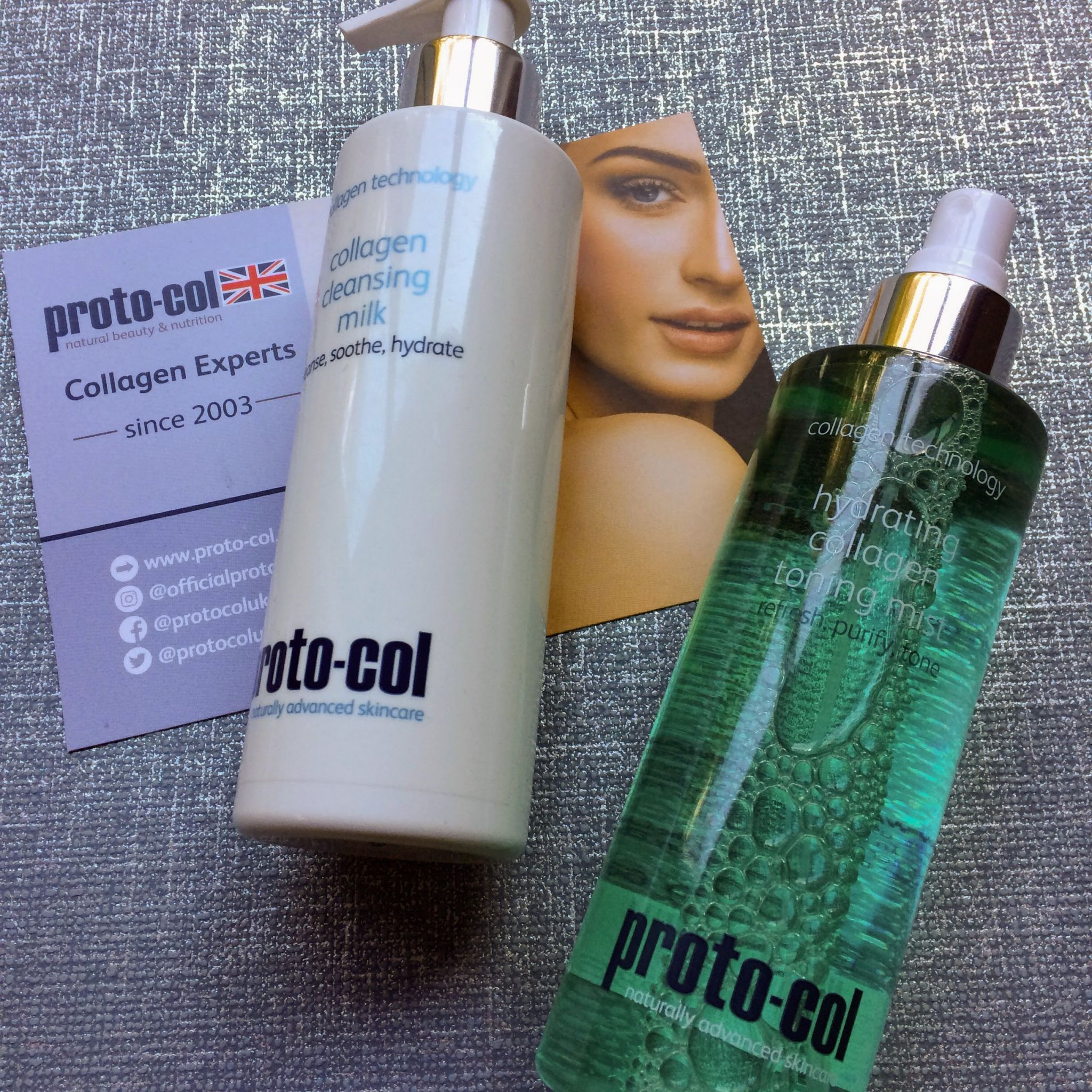 Proto-col Collagen Hydrating Tonmng Mist