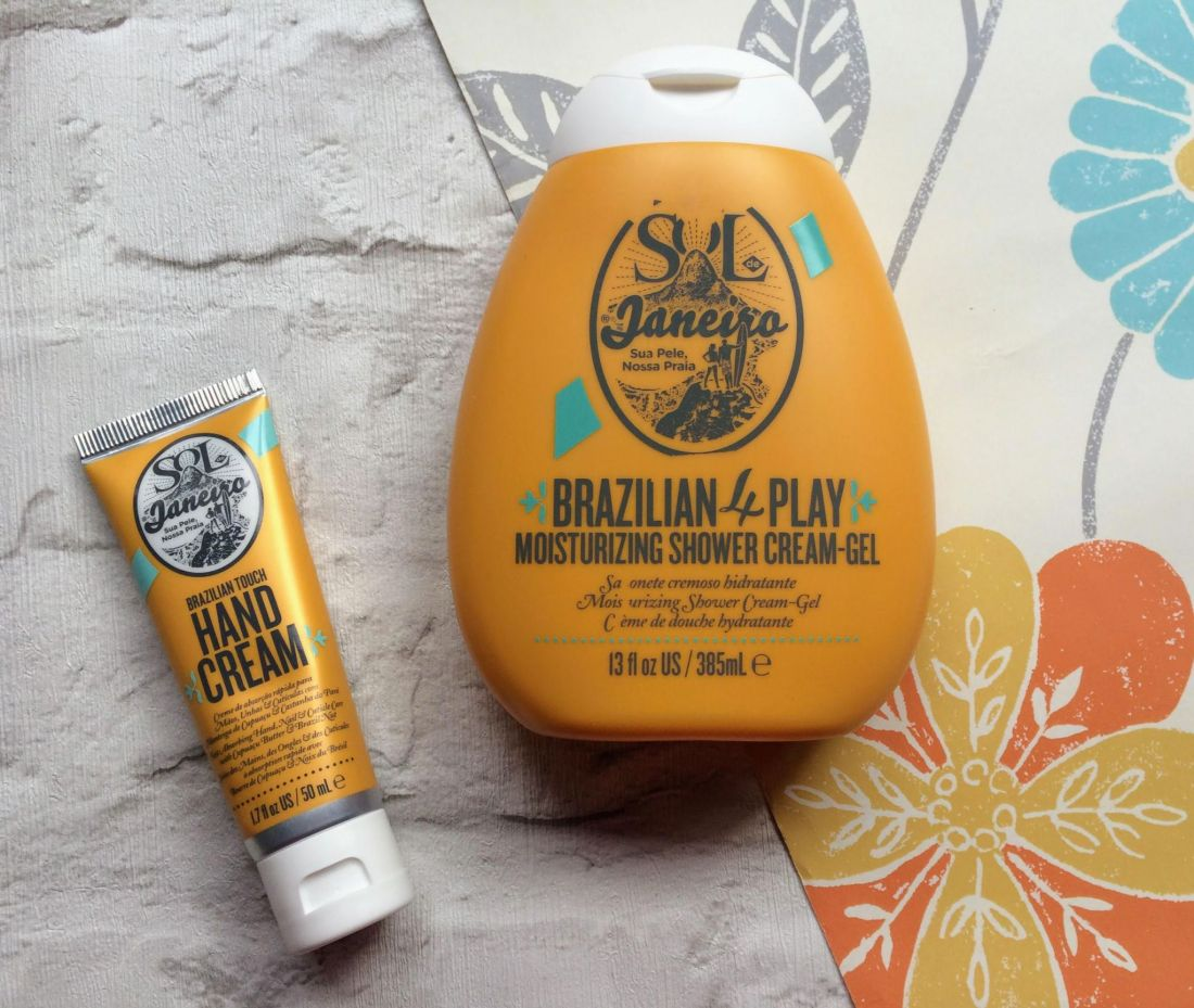 Sol de Janerio hand cream, shower gel