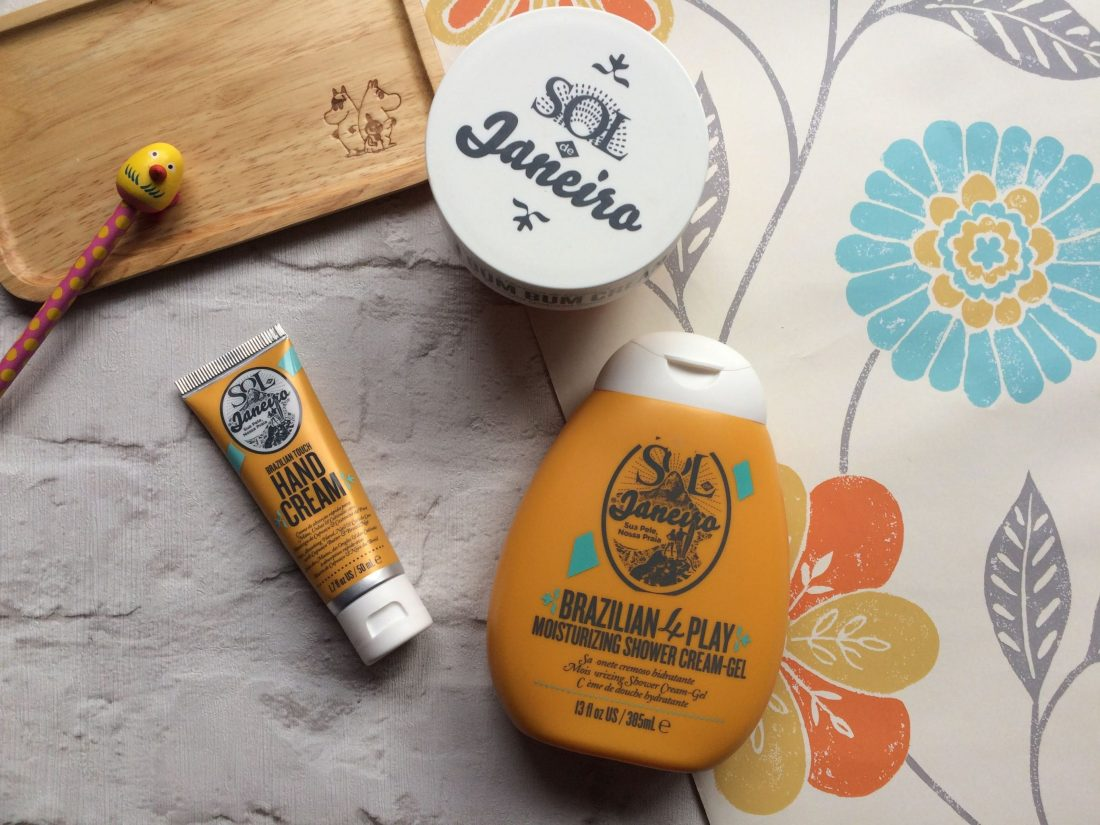 Sol de Janerio Bum Bum cream, hand cream, shower gel