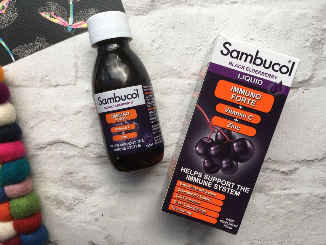 Sambucol black elderberry liquid