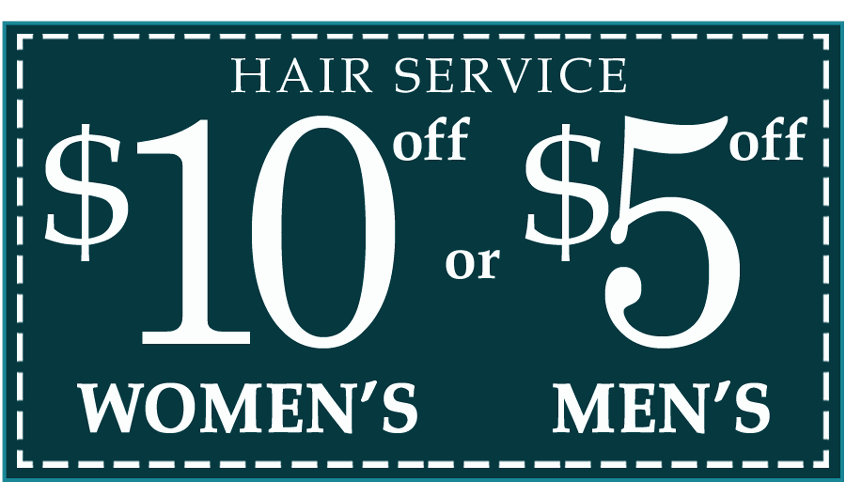 Beauty Boutique Coupon $10 OFF Hair Service