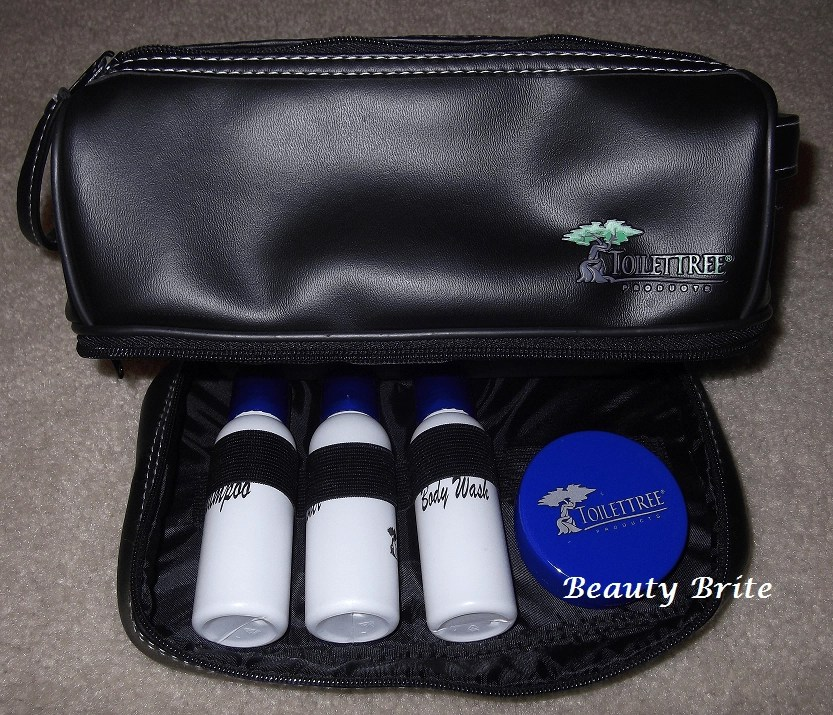 ToiletTree Product Toiletry Bag with Travel Accessories