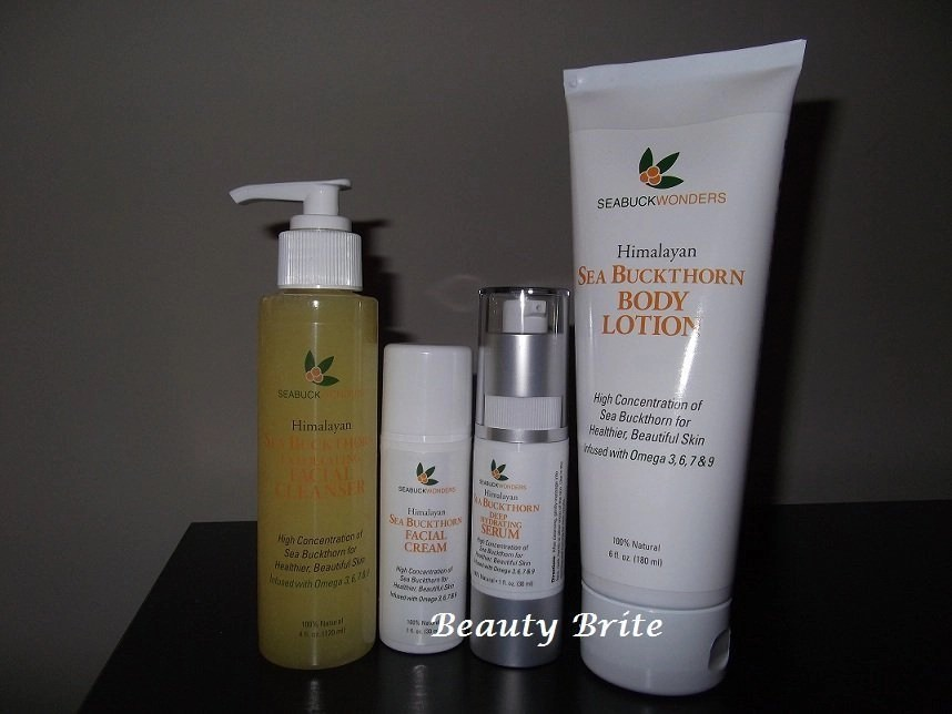 SeabuckWonders Skin Care and Supplements