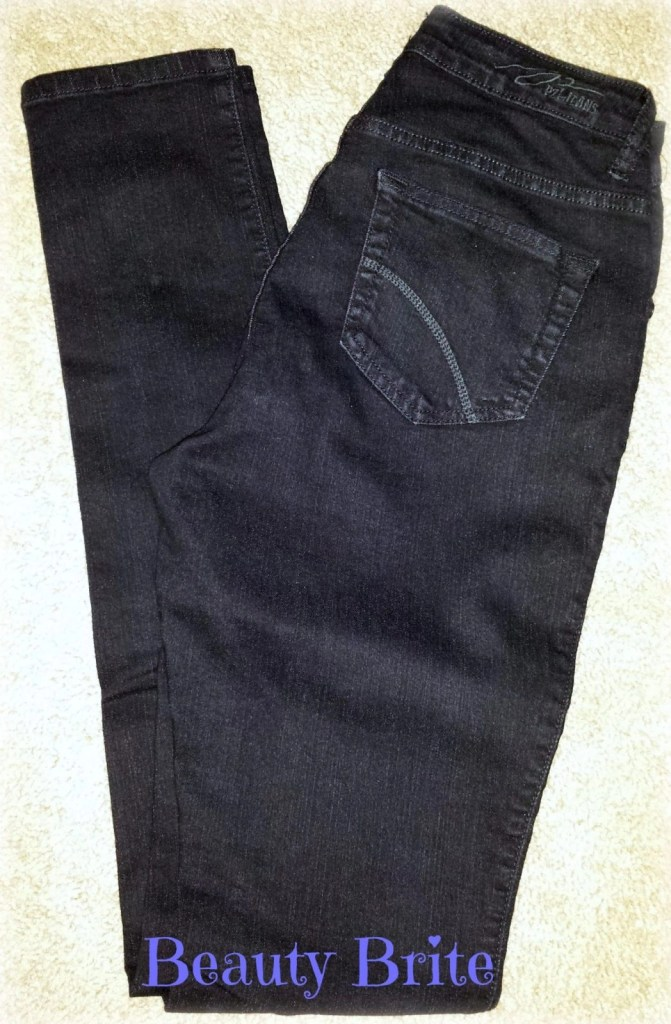 Curve Black Skinny Jeans by PZI