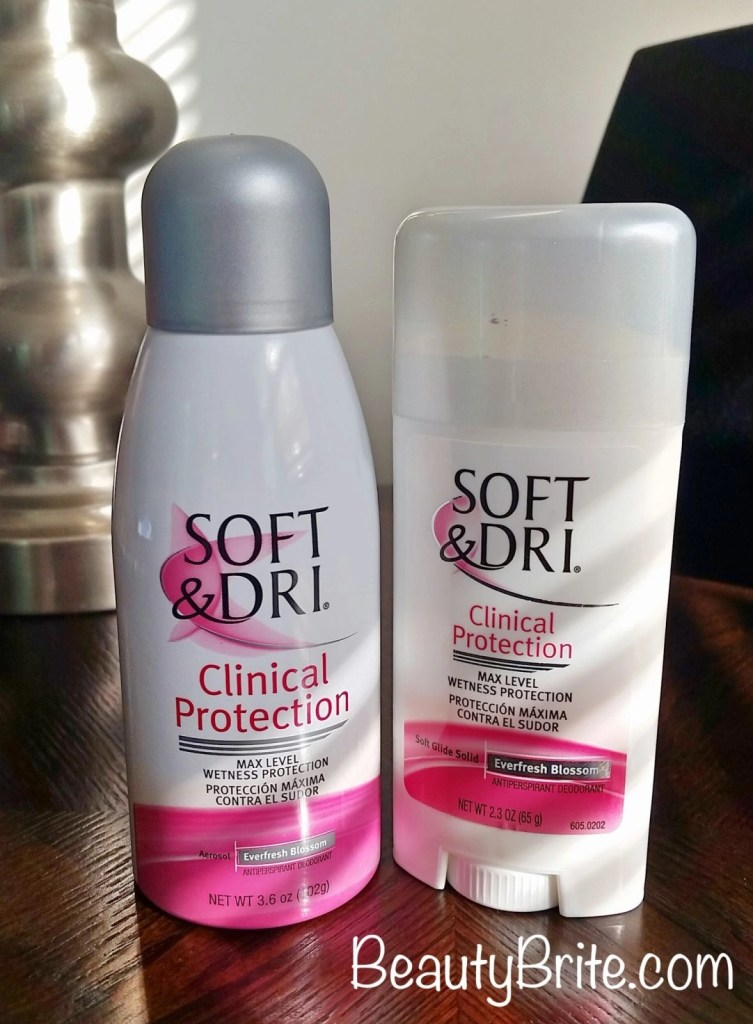 Soft & Dri® Clinical Protection Antiperspirant Deodorant beautybrite