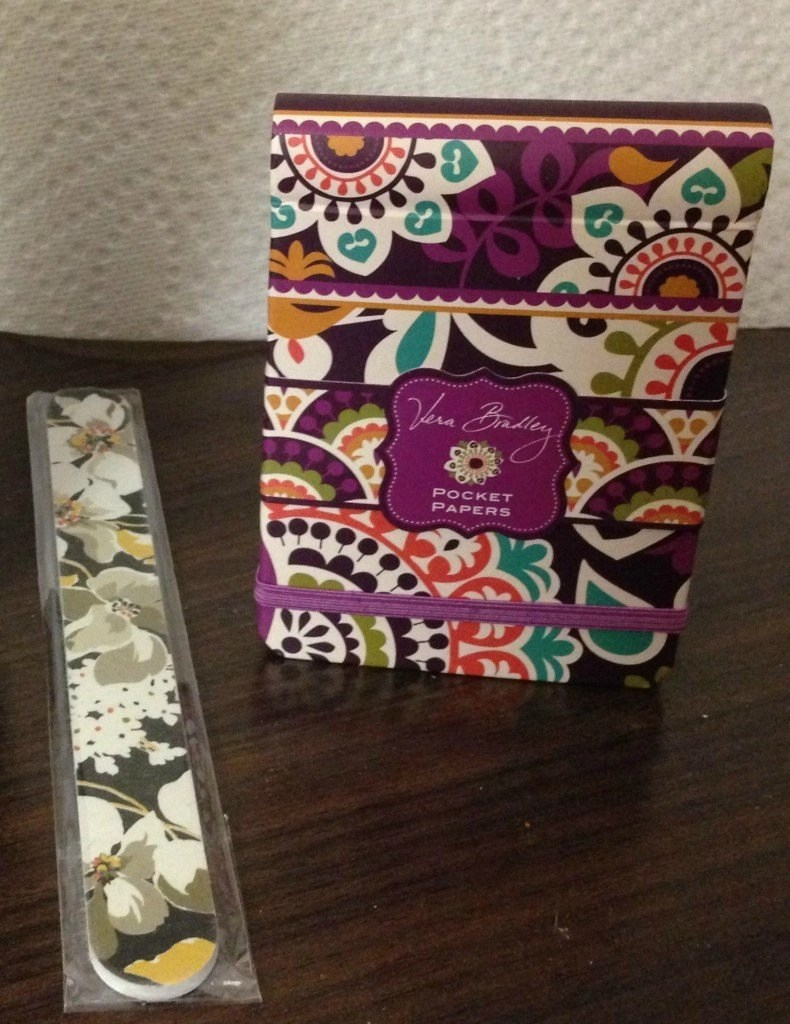 Opry Mills Mall, Nashville, TN -- Vera Bradley Pocket Papers & nail file